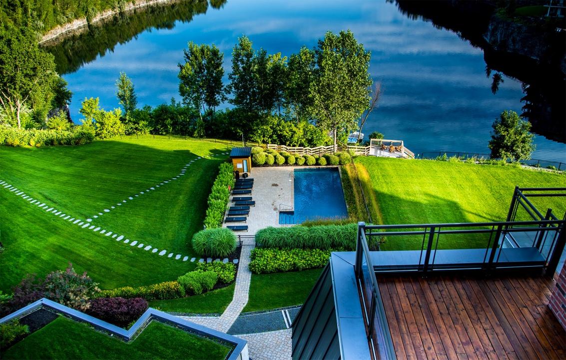Entretien et tonte de pelouse am nagement entretien for Club piscine rive sud montreal